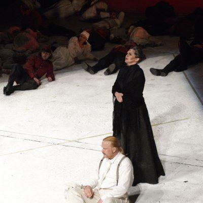 Milano: Teatro Alla Scala | 2007 | Leoš Janáček: Jenůfa | Kostelnička: Agnes Zwierko | Steva: Ian Storey