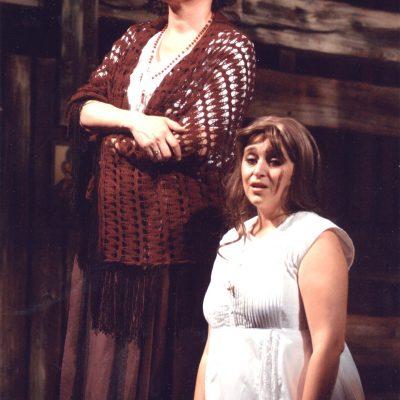 Ostrava: Národní divadlo moravskoslezské | 2004 | Leoš Janáček: Jenůfa | Kostelnička: Agnes Zwierko | Jenůfa: Yvetta Tannbergerova | photo: Josef Hradil
