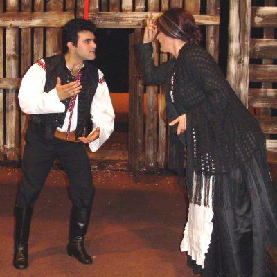 Ostrava: Národní divadlo moravskoslezské | 2004 | Leoš Janáček: Jenůfa | Kostelnička: Agnes Zwierko | Steva - Luciano Mastro